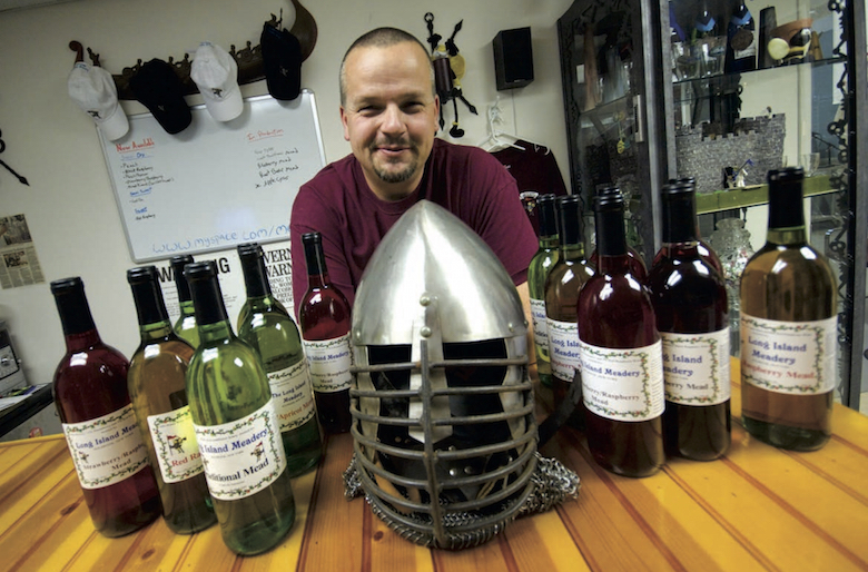 Paul Holm shed the armor of weekend knighthood to found Long Island Meadery, one of 106 nationwide.