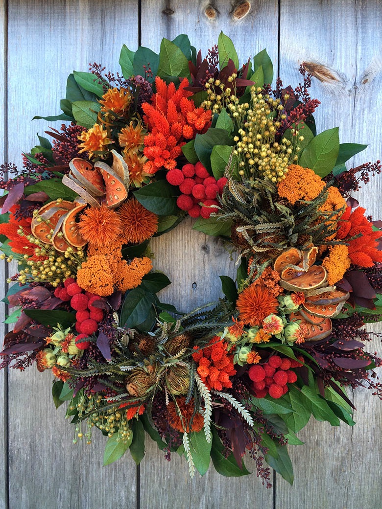 Holiday Wreath Making Class Edible East End